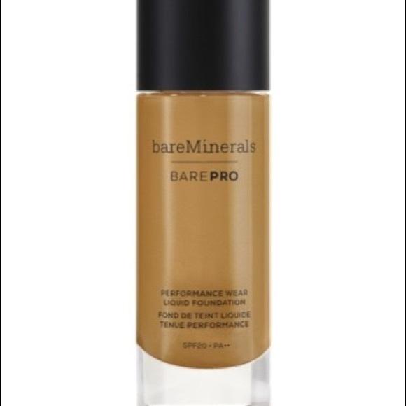 bareMinerals Other - Bareminerals liquid foundation makeup chai brown